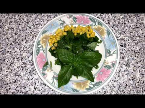 Salat od Sremus recept/Salat von Bärlauch Rezept/Salad with Wild Garlic recipe