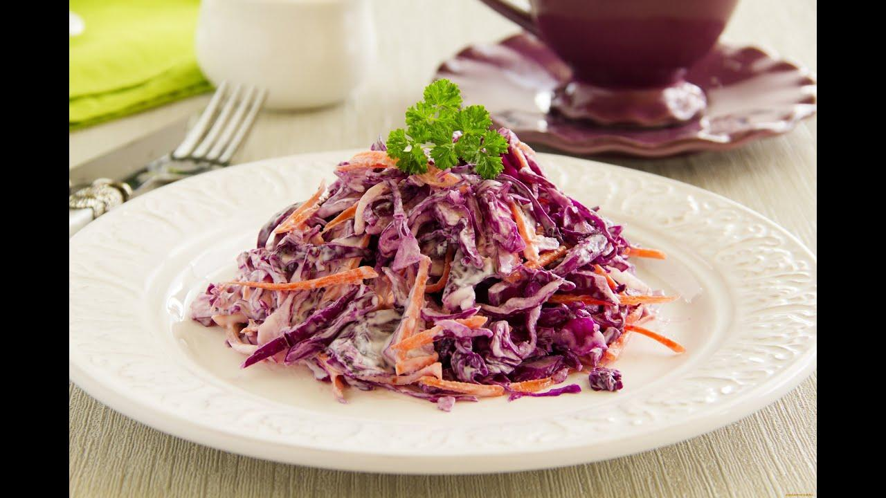 Салат две капусты Веганы оценят #салат #капуста #веган #cabbage #vegan #простойрецепт