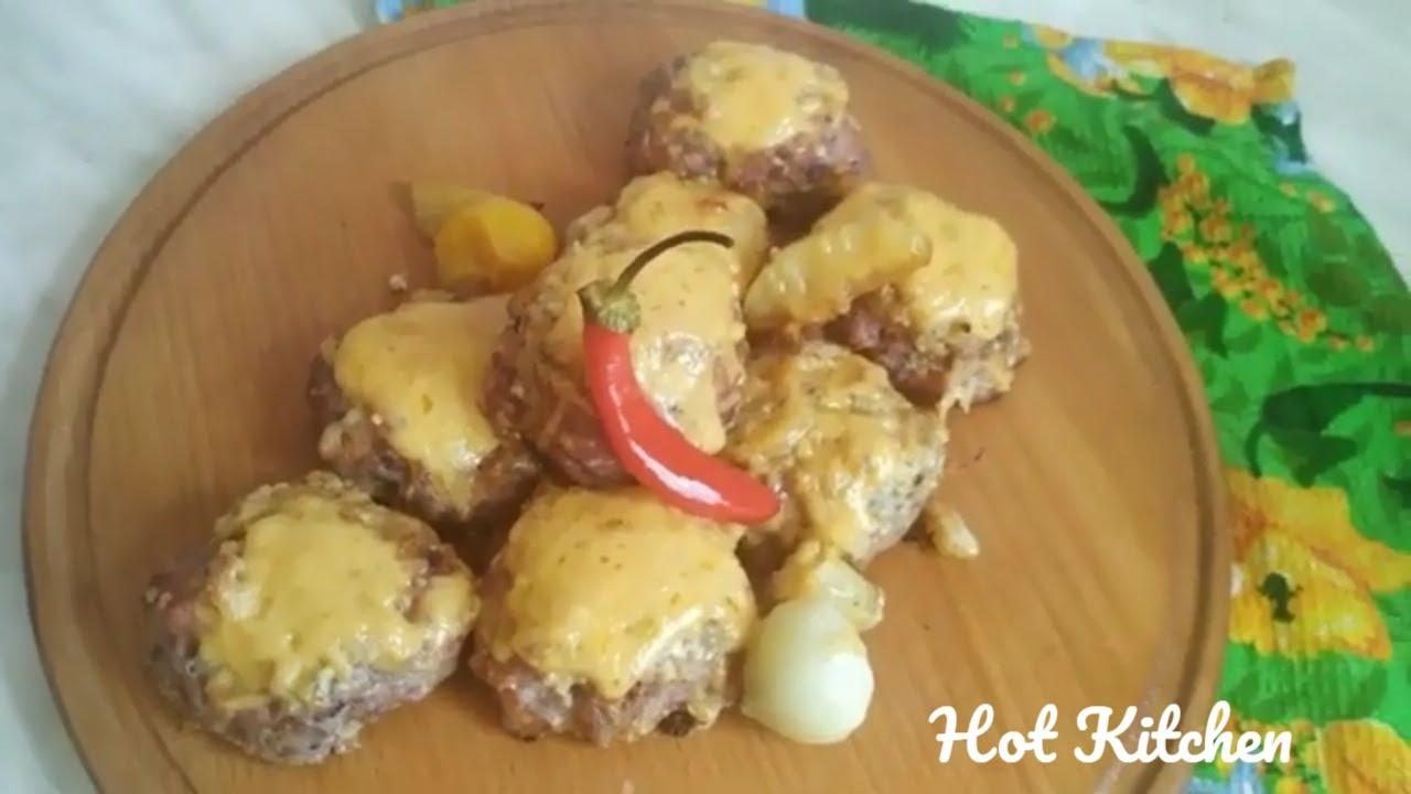 When meat meets cheese in Hot Kithen:) | Meat cheesecakes. Mouth watering recipe.